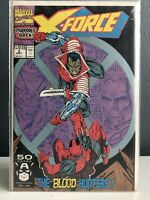 X-Force Vol 1 #2 Sept 1991 Marvel Deadpool Weapon X   Bagged Boarded VF