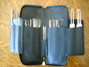 Set grimaldelli professionali Southord 3010, per serrature e lock-picking