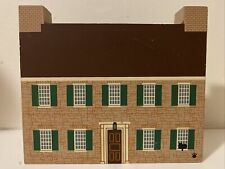 New ListingThe Cats Meow Village Great Americans Series Daniel Boone Home Faline 96