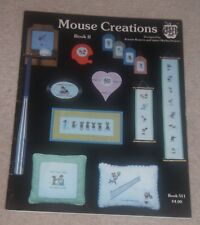 GREEN APPLE CROSS STITCH CHARTS BOOKLET MOUSE CREATIONS BOOK II MICE