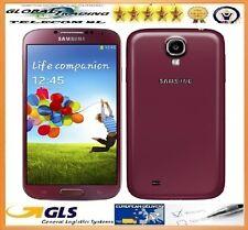 SAMSUNG GALAXY S4 PLUS GT-I9506 4G+ GRADO A LIBRE ROJO GRANATE PERFECTO ESTADO