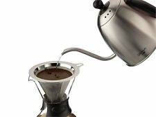 Grunwerg Pour Over Coffee Maker Reusable Filter Cafetiere Espresso Glass 580ml