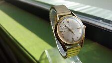 Waltham Swiss Auto Gold Plated 17J Watch + Rare ArtDeco Velvet Case