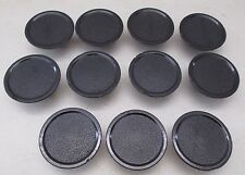 Vintage (11) Drawer Cabinet Cupboard Pulls Round Black from Great Lakes Ship