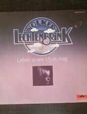 Volker Lechtenbrink – Leben So Wie Ich Es Mag Label: Polydor Vinyl LP