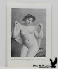 S. Recknagel Photo French Provocative Litho Print Nude Naked Full Frontal
