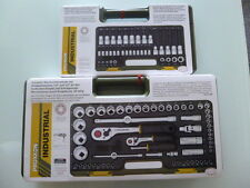 PROXXON Set 23290 Bitsatz Nusssatz +Komplettsatz mit Knüppelratsche 65 tlg