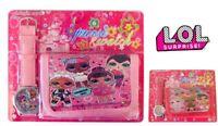 LOL SURPRISE KIDS GIRL SCHOOL BIRTHDAY PARTY GIFT WATCH WALLET PURSE BAG SET TOY