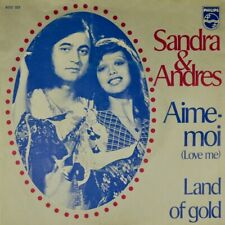 "7"" SANDRA REEMER & ANDRES DRIES HOLTEN Aime-moi/ Land Of Gold PHILIPS Dutch 1973"
