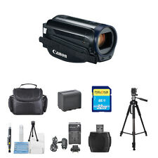 Canon Vixia Hf R600 Full Hd Camcorder (Black) Everything You Need-Starter Bundle