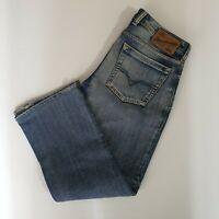 Diesel Zatiny Regular Boot Cut Jeans Men's Sz 29 X 32 Button Fly Light ALTERED