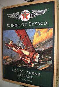 Ertl Wings of Texaco 1931 Stearman Biplane #1005 3rd in Series Stock Number F121