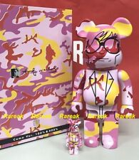 Medicom Be@rbrick Andy Warhol Camo 400% + 100% bearbrick set 2pcs