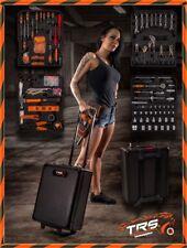 T.R.S. Werkzeugkoffer 599 tlg. / Werkzeug Trolley / Werkzeugbox / Werkzeugkasten
