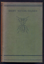 THE NATURAL HISTORY OF AQUATIC INSECTS - L.C.MIALL - 1903 - ILLUS.  HAMMOND