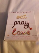 Eat Pray Love Book On Cd Unabridged