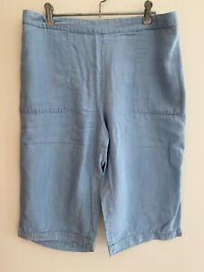Blue Illusion Denim Shorts - Size M