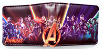 Avengers End Game wallet purse id window zipped pocket card slot 3 styles Hulk