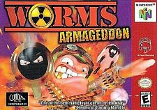 USED Worms: Armageddon N64 Game PAK only Super Clean Free Shipping