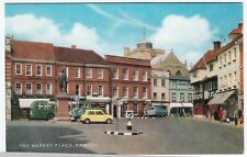 Hampshire; The Market Place, Romsey PPC c 1960s, Unposted by J Salmon