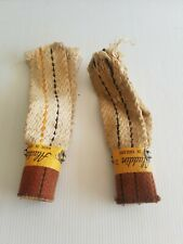 Vintage genuine Aladdin wick size 21 for oil lamp made in England pair