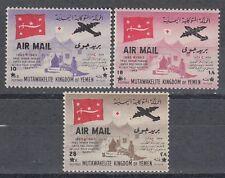 Yemen Kgr 1964 ** Mi.66/68 Ausländische Ärzte Foreign Doctors Medizin Medicine