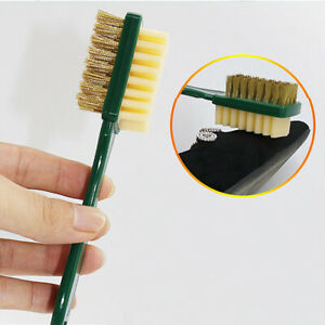 3-Sided Cleaning Brush  Rubber Eraser Set Fit Suede Leather Nubuck Shoes Steel