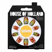 House Of Holland False Nails - Tigrrrrrr Tiger Nails (24 Nails)