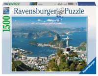 PUZZLE DE 1500 PIEZAS VISTA DE RIO DE JANEIRO EN BRASIL - RAVENSBURGER 16317