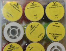 Veniard UV dispersion Chenille extra fine largeur Boîte Lot de 12 bobines