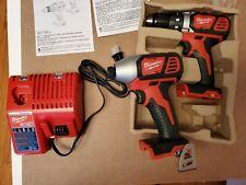 Milwaukee M18 Drill combo Set  W/Impact Drill