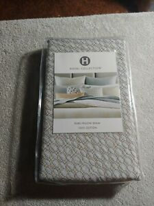 Hotel Collection Bedford Geo 100% Cotton Euro Pillow Sham Multi $120
