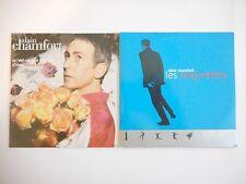 || LOT CD Single Collector - Port 0€ || ALAIN CHAMFORT : 2 CD - MARC MOULIN