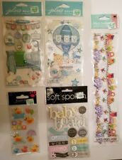 Baby Boy Scrapbooking Kit, Total of 6 Packages