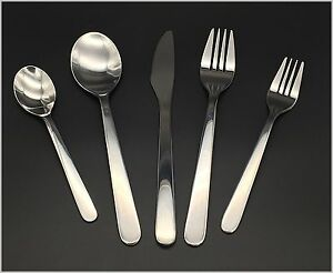 Modern, Stylish & Classic Stainless Steel Flatware Set Settings 1-10 Optional