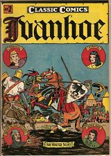 Classic Comics Number Two Ivanhoe by Sir Walter Scott