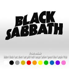"6"" Black Sabbath Music Heavy Metal Window Car Laptop Vinyl Decal sticker"