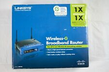Linksys WRT54G V8  Wireless Broadband Repeater Bridge Range Extender Router WIFI