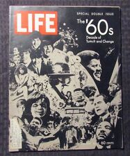 1969 LIFE Magazine Dec 26 FN- 5.5 Beatles The '60s Double Issue