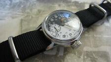 WW2 ELGIN MILITARY DAY/NIGHT 24 HR DIAL WATCH WITH  NEW MILITARY  CASE