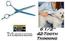 Master Coupe de Poils Outils Titane Bleu 440C Cisaillement Ciseaux Diluant