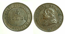 pcc1259_3) STATO PONTIFICIO  PIO IX  4 SOLDI 1867