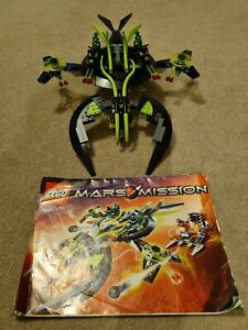 Lego 7691 Mars Mission ETX Alien Mothership & Figs Ship - Complete VGC