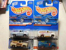 Hot Wheels'56 Ford F-100 Panel Lot 4 CLASSICS PIN HEDZ FIRST EDITION FREE SHIP