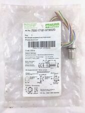 MURR ELEKTRONIK 7000-17181-9730020 M12 Female Receptacle A-cod PP-wires 8x.25