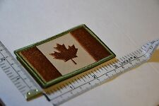 CANADA ARMY FLAG PATCH COMBAT MORALE MILITARY BROWN MULTICAM MILSPEC ACU QUALITY