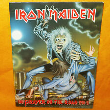 More details for vintage iron maiden no prayer on the road 1990/91 tour concert programme book
