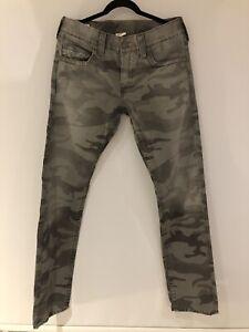 True Religion Camo trousers Waist 31