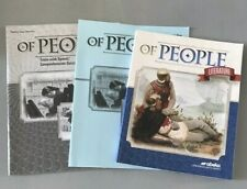 ABeka OF PEOPLE  7th Grade Student Textbook & Text and Quiz / Test Answer Keys