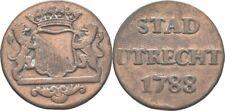 1 Duit 1788 Niederlande - Utrecht , Krone #MKU101